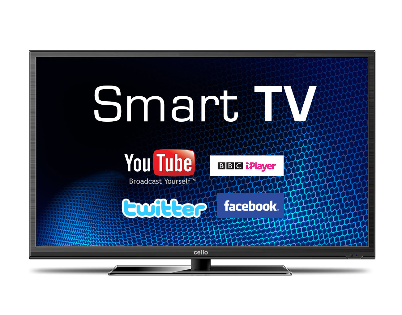 40 smart tv with full hd and freeview t2 hd cello electronics uk ltd. Black Bedroom Furniture Sets. Home Design Ideas