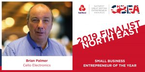 Brian Palmer - small business award