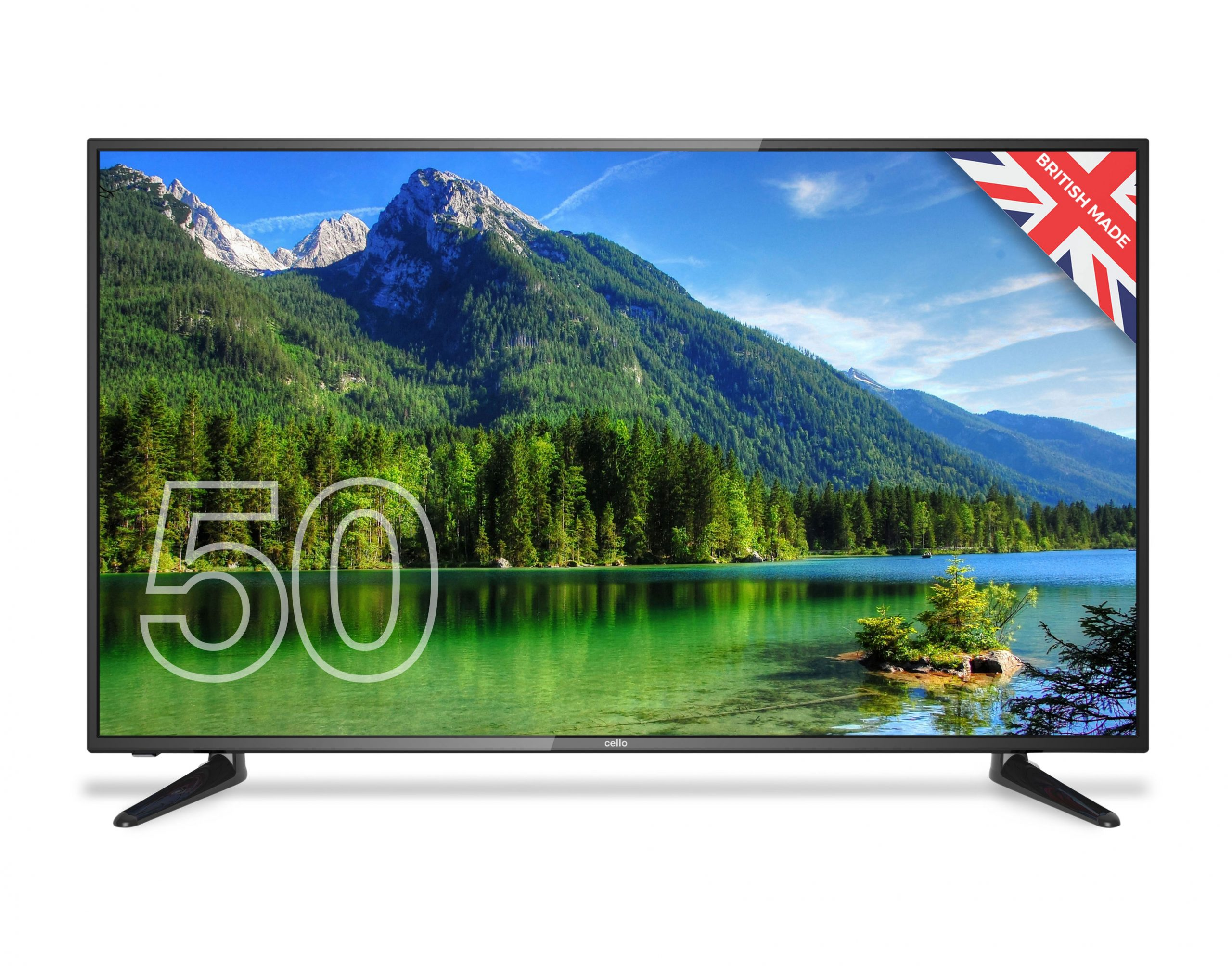 50 Full Hd Led Tv With Freeview T2 Hd Channels And Usb Cello Electronics Uk Ltd