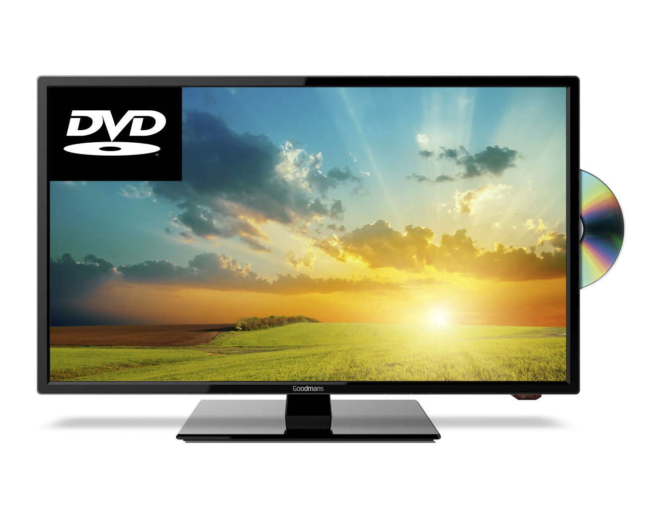 24 Hd Ready Led Digital Tv With Built In Dvd Player Cello