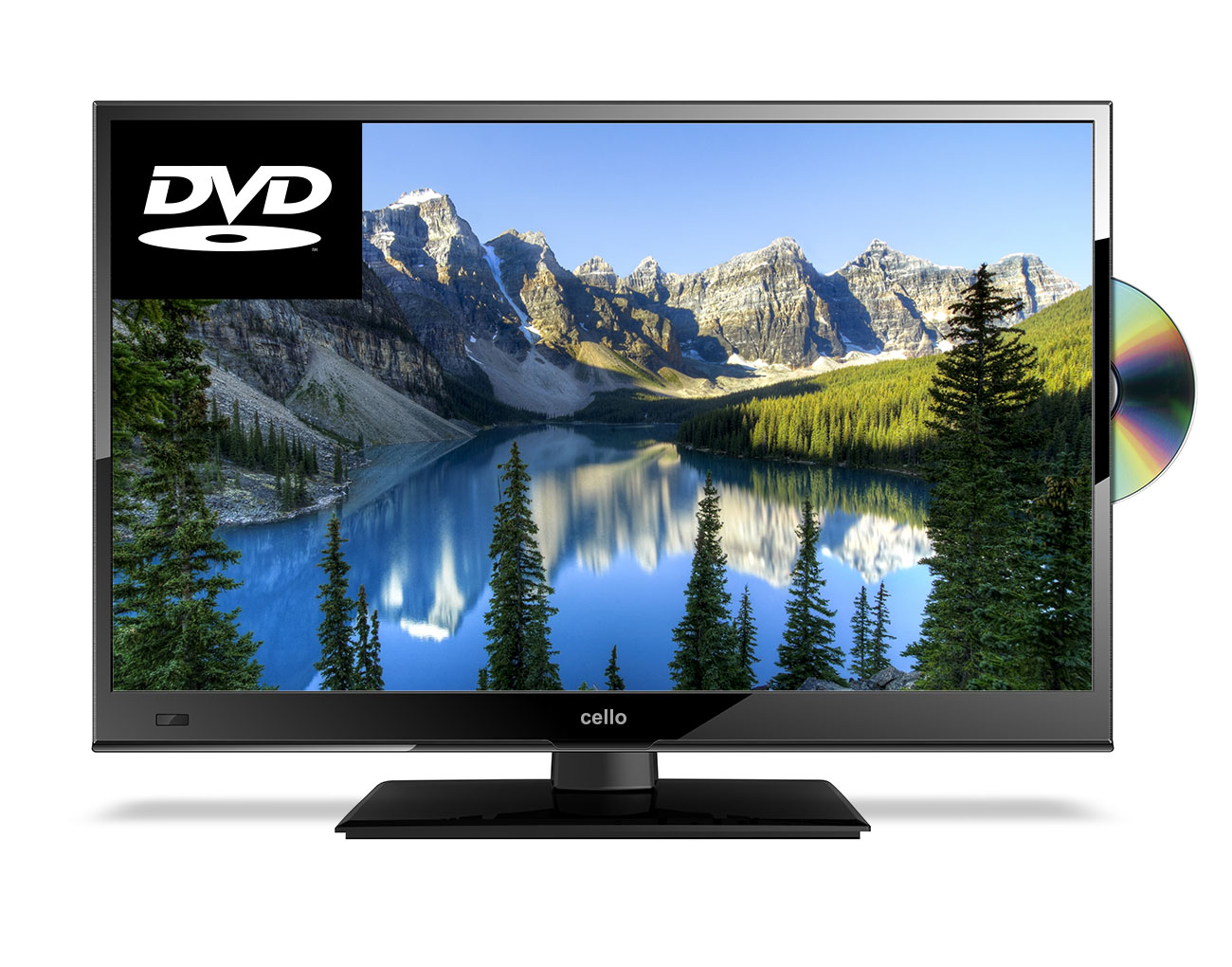 16 Full Hd Led Digital Tv With Built In Dvd Player Freeview T2