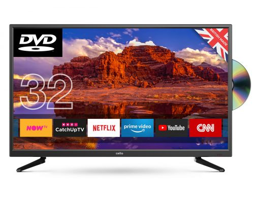 "db1e6bb34c2be 32"" Superfast Smart LED TV with built-in DVD Player - Cello ..."